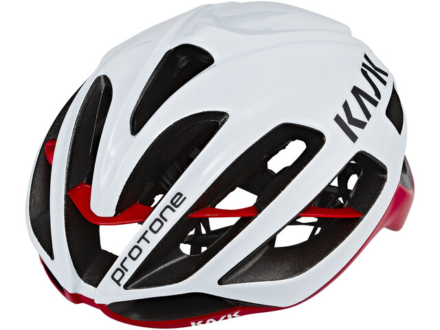 Kask Protone Casque White Red